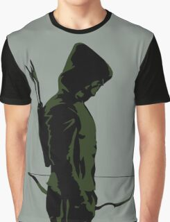 Green Arrow - Oliver Queen Graphic T-Shirt