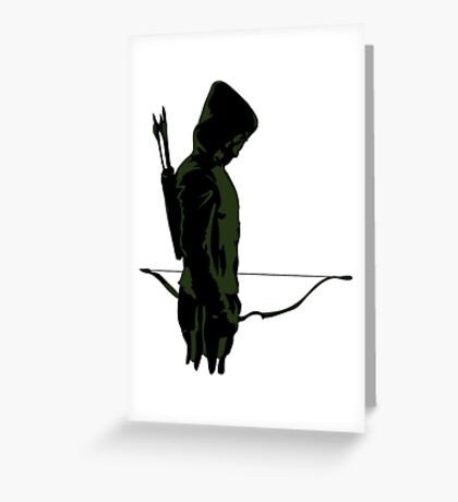 Green Arrow - Oliver Queen Greeting Card