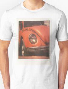 Red Polaroid Beetle Unisex T-Shirt