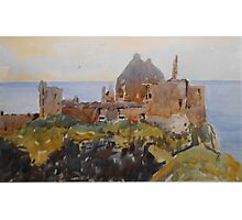Dunluce Castle, Northern Ireland Photographic Print
