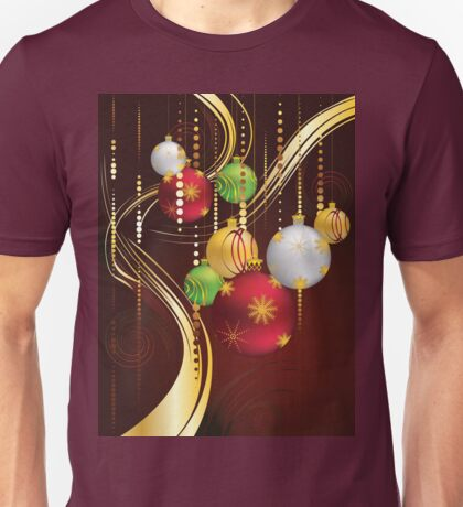 Decorative Christmas Ornaments 3 Unisex T-Shirt