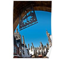 "Walking ""Around"" Hogsmeade Poster"