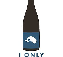 I Only Drink Whales (Craft Beer Geeks) by baridesign