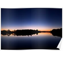 Evening by the lake - Fitzroy Harbour, Ontario Poster