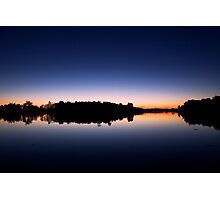 Evening by the lake - Fitzroy Harbour, Ontario Photographic Print