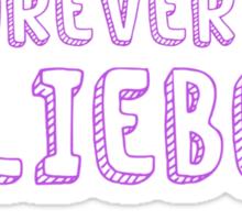 Forever a Belieber Sticker