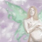 Pastel Pregnant Fairy by Stacy Parker