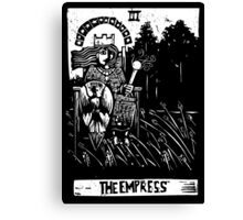 The Empress - Tarot Cards - Major Arcana Canvas Print