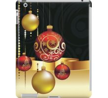 Decorative Christmas Ornaments 4 iPad Case/Skin