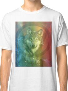 Rainbow Wolf Classic T-Shirt