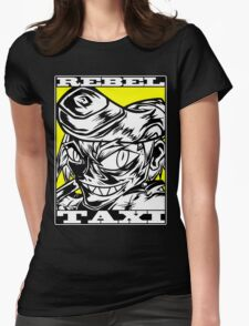Mad RebelTaxi Womens Fitted T-Shirt