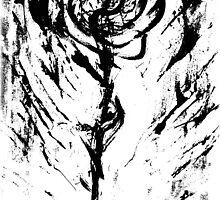 Zebra Wild Rose by RW ART