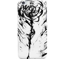 Zebra Wild Rose iPhone Case/Skin