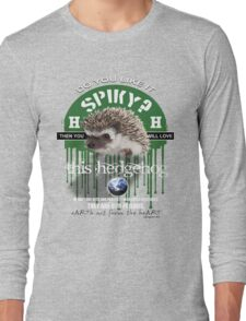 hedgehog spiky Long Sleeve T-Shirt