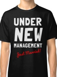 Just Married T-shirt Classic T-Shirt