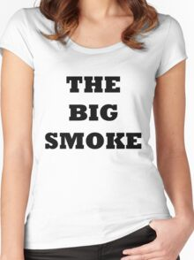 THE BIG SMOKE BELFAST Women's Fitted Scoop T-Shirt