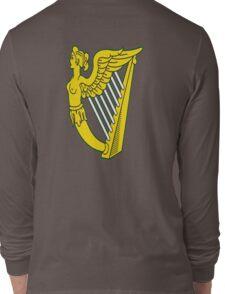 IRISH HARP IRELAND GREEN GOLD Long Sleeve T-Shirt