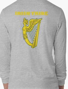 IRISH TRIBE IRELAND HARP Long Sleeve T-Shirt