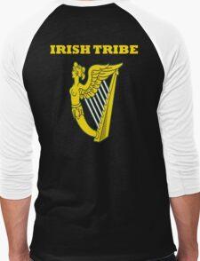 IRISH TRIBE IRELAND HARP Men's Baseball ¾ T-Shirt