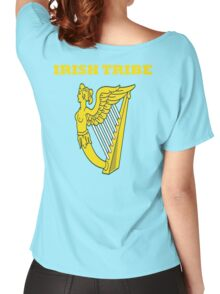 IRISH TRIBE IRELAND HARP Women's Relaxed Fit T-Shirt