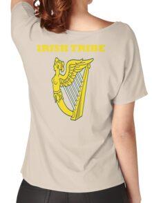 IRISH TRIBE IRELAND HARP Women's Relaxed Fit T-Shirt