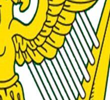 IRISH TRIBE IRELAND HARP Sticker
