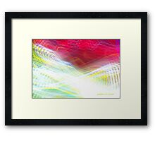 The Light Is The Art 10 (Crop 2) Framed Print
