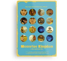 Moonrise Kingdom featuring Suzy Bishop & Sam Shakusky Metal Print