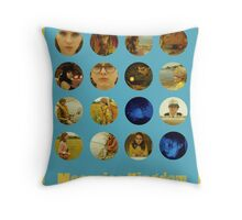 Moonrise Kingdom featuring Suzy Bishop & Sam Shakusky Throw Pillow