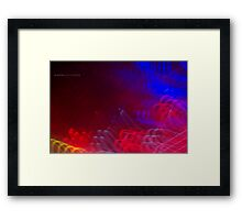 The Light Is The Art 10 (Crop 03) Framed Print