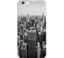 Chicago Black and White iPhone Case/Skin