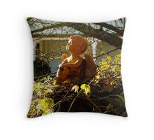 An Angel Watching Over Me! Throw Pillow