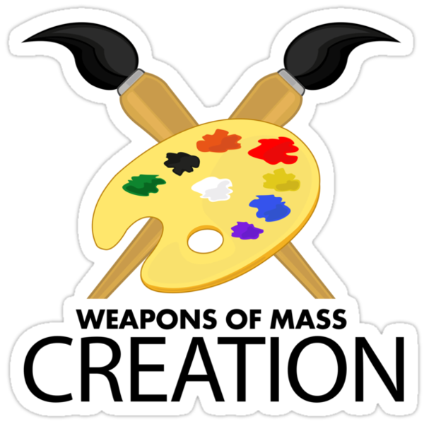 Weapons of mass creation - Blue by Adamzworld