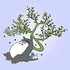 Sleeping Totoro by KAMonkey