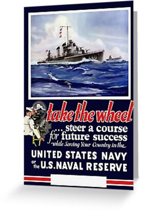 Take The Wheel -- United States Navy by warishellstore