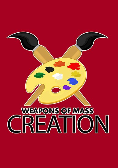Weapons of mass creation - Red by Adamzworld