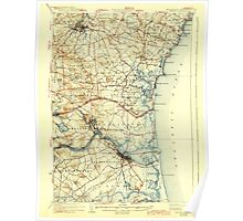 USGS TOPO Map New Hampshire NH Exeter 330034 1934 62500 Poster