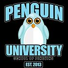 Penguin University - Blue 2 by Adamzworld
