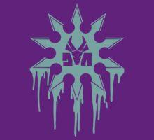 Die Antwoord Ninja Star (Aqua Version) by Magmata