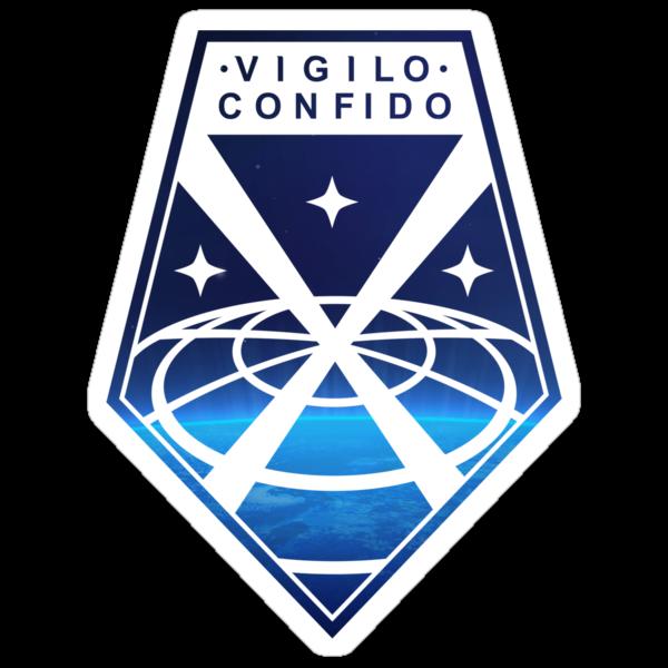 Vigilo Confido Patch [LET CLASSINESS BE JOI...