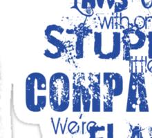 Romo's Words of Wisdom Sticker