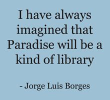 Paradise is a library T-Shirt