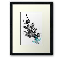 JACKDAW at BOARDING! Framed Print