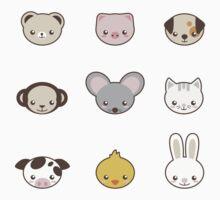 Cute animals by Frikota