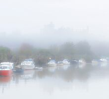Castle in the mist. by fulhamphil
