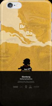 iSenberg - Breaking Bad iPhone Case by ronnywilko
