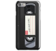 VHS and Chill iPhone Case/Skin
