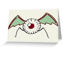 Eye Bat Greeting Card