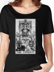 The Chariot Tarot Card - Major Arcana - fortune telling - occult Women's Relaxed Fit T-Shirt