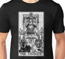 The Chariot Tarot Card - Major Arcana - fortune telling - occult Unisex T-Shirt